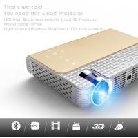 simplebeamer GP5W 3D led Projector 1800 lumens with Android 4.44 OS,wifi Smart projector Bluetooth exceed mini projector Manufactures
