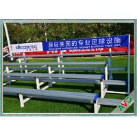 Indoor / Outdoor Soccer Field Equipment Grandstand Bleacher Seats Retractable Manufactures