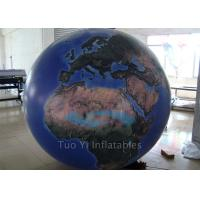 Durable Inflatable Globe Ball Giant Event Custom Advertising Inflatables Manufactures