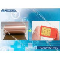 China Electro - Deposited PCB Copper Foil Sheet For FPC And FCCL Fine Circuit Application on sale