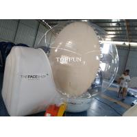 CE Clear Snow Globe Outdoor Inflatable Bubble Tent For Exhibition Show Manufactures