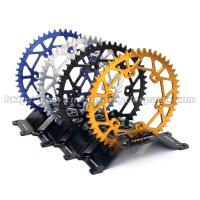 Aluminium Alloy Dirt Bike Sprockets , Motorcycle Chain Sprockets For Motorcycle Spare Parts Manufactures
