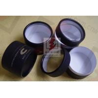 Quality Cylindrical Cardboard Tube Box Container Kraft  Inside Aluminum for sale
