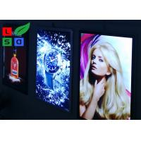 Quality Aluminum Framed Ultra Thin Light Box , 2835 SMD LED Illuminated Poster Displays for sale