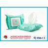 Buy cheap Organic Formula Feminine Hygiene Wipes Eye Makeup Cleansing With Aloe Vera from wholesalers