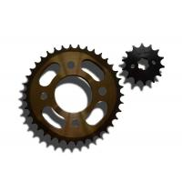 Thermal Treatment 1045 Steel Motorcycle Sprocket Chain For Yamaha Motorbike Accessories Manufactures