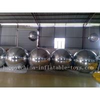Reflective Inflatable Mirror Ball / Balloon , Events Decoration inflatable balloon advertising Manufactures
