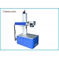 China Smart Fiber Laser Marking Machine For Auto Parts Electronic Components on sale