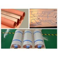 Standard Width Copper Sheet Roll 12um Thickness With Good Etching Resist Adhesion Manufactures