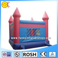 Rectangle Outdoor Inflatable Bouncy Castle Water Proof Sewing Manufactures