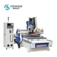 Door Plate Furniture Wood Cutting Machine 3 Axis Cnc Router X/Y Axis Guide Rack Manufactures
