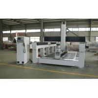 Plywood / PE / Foam 5 Axis CNC Router Machine With Economic 5 Axis Head Manufactures