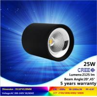 High quality 25W LED downlight AC230V 3000K CREE COB lighting fixture with CE RoHs Manufactures