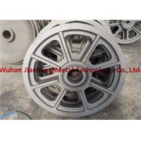 Construction Machines Wheel 500kg Alloy Steel Casting Manufactures