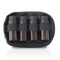 Nylon Essential Oil Storage Case 2 Bag Set With 4 Bottle Keychain Case Manufactures