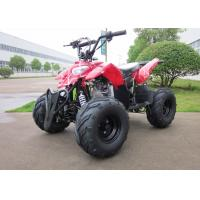Automatic Red Mini ATV 110CC Chain Drive With EEC / EPA For Kids Manufactures