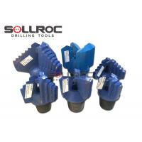 Buy cheap Water Well Drilling Step Drag Drill Bits 3 Wings 4 Wings API REG Thread from wholesalers