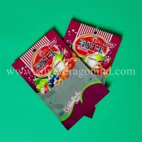 zipper snack food bags, one side Aluminium, one side clear. Manufactures