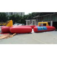 0.45mm PVC Inflatable Sports Games , Inflatable Water Football Court Manufactures