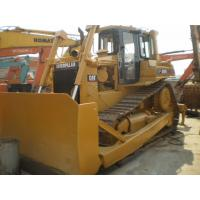 Caterpillar D6H Second Hand Bulldozers For Sale , Used Construction Equipment  Manufactures