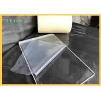 Transparent Plastic Sheet Protective Film For Plactic Board / PVC PE Protection Film Manufactures