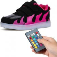 USB Rechargeable Remote Control LED Shoes For Toddlers 11 Lighting Changing Modes Manufactures