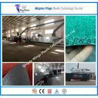 The Plastic Extrusion Machine for PVC Vinyl Loop Mat Coil Mat PVC Coil Car Mat Manufactures