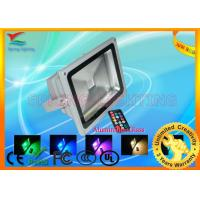 CE and RoHS Approved 10W / 20W / 30W Aluminum IP65 RGB LED Flood Light Manufactures