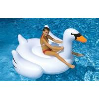 Quality Giant Entertainment Swan Inflatable Swim Ring For Family , School for sale