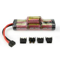 Quality MELASTA 8.4v 4200mAh 7-Cell Hump NiMH Battery with Universal Plug System for RC Racing Car for sale
