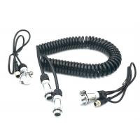 TPU TPE 7 Pin Spiral Power Cable Curly Connection Cable For Car Rear View System Manufactures