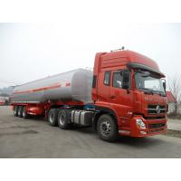 Buy cheap 45000 Liters 3 Axle Fuel Delivery Truck Trailer Tri-axle Carbon Steel Oil Tank from wholesalers