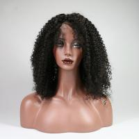 Quality Indian Kinky Curly Human Hair Lace Front Wigs For Black Women No Shedding for sale