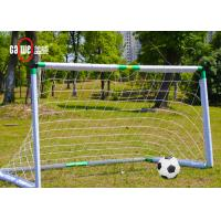 Adjustable Sturdy 11 A Side Football Nets , Foldable Full Size Football Nets Manufactures