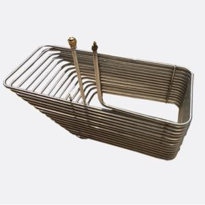 China Chiller Heating Coil Coaxial Heat Exchanger on sale