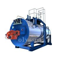 High Pressure Gas Fired Steam Boiler , 1 Ton Atomized Steel Steam Gas Heating Boiler Manufactures