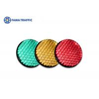 High Efficiency Traffic Light LED Module , Traffic Signal LED Lights With 200mm Cobweb Lens Manufactures