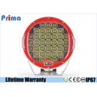 China 12V / 24V 9 Inch Vehicle Driving Lights IP67 185W Power Spot / Flood Beam on sale