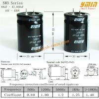 105°C 6000 Hours Capacitor Snap in Electrolytic Capacitor for Solar PV Power Inverter and Wind Power Inverter Manufactures