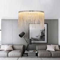 Buy cheap Round Chain hung chandelier light fixture for home lamp (WH-CC-14) from wholesalers