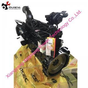 Cummins Turbo Diesel Engine 6CTAA8.3-C195 For Industrial Engineering Machinery,Water Pump Manufactures
