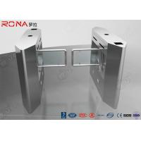 Security Access Control Swing Barrier Gate System With Rfid Identification Manufactures