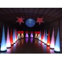 Environmental Inflatable Lights PVC Large For Event Show Manufactures