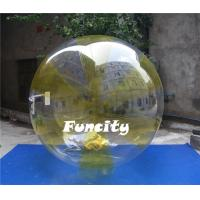 Colorful 0.8MM PVC Transparent Inflatable Water Walking Ball  for Water Pool Manufactures