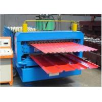 380V 60HZ Metal Sheet Forming Machine With 8 - 12m / Min Working Speed Manufactures