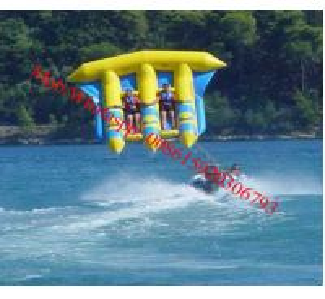 inflatable flying banana boat, banana boat fly fish / flying fish boat flying fish boot Manufactures