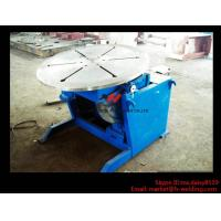 High Precision Pipe Welding Positioners With Turning / Revolve Table HB30 3000KG Manufactures
