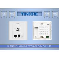 In Wall Wireless Access Point 802.3af 48V Passive PoE With LAN Port Phone Port Manufactures