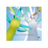 Quality Inflatable Bespoke Air Dancers / Sky Ticklers Waterproof SGS Certification for sale