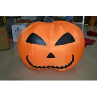 PVC Tarpaulin Custom Inflatable Products Pumpkin Celebration Use Manufactures